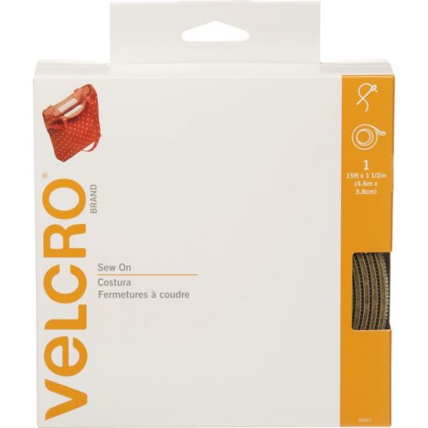 "VELCRO(R) Brand Sew-On Tape 1-1/2""X15'"