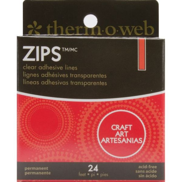Zips Craft Clear Adhesive Lines