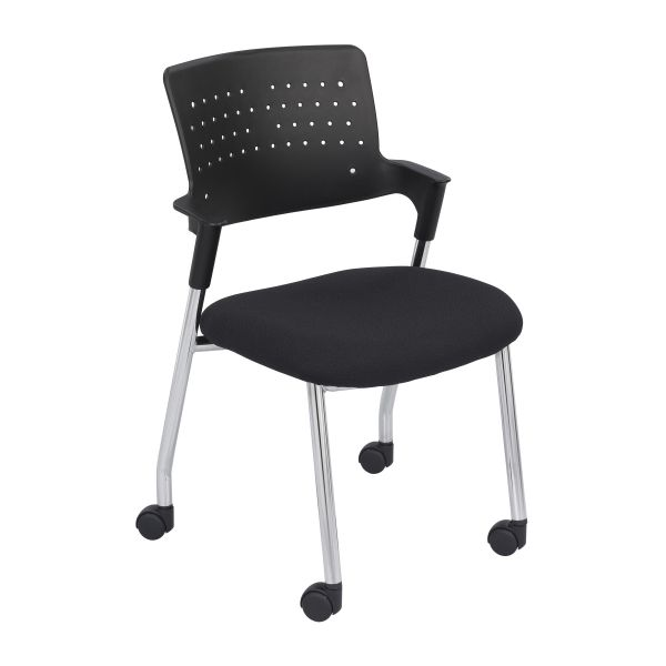 Safco Spry Series Guest Chairs w/Casters