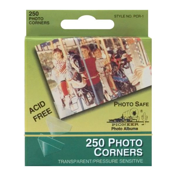 "Photo Corners Self-Adhesive .5"" 250/Pkg"