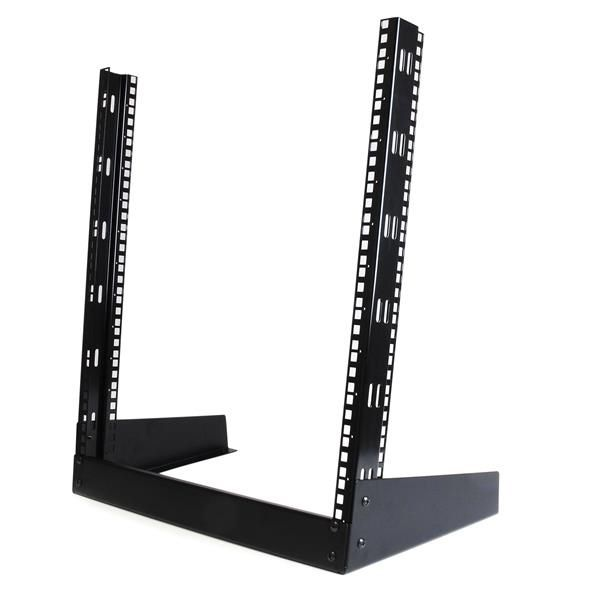 StarTech.com Open frame rack - 12U 19in - 2 post rack - desktop open rack