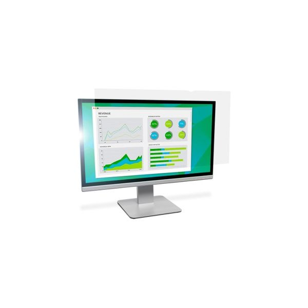"""3M AG19.5W9 Anti-Glare Filter for Widescreen Desktop LCD Monitors 19.5"""" Clear"""