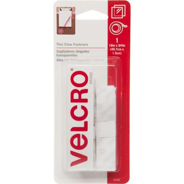 "VELCRO(R) Brand Thin Fasteners Tape 3/4""X18"""
