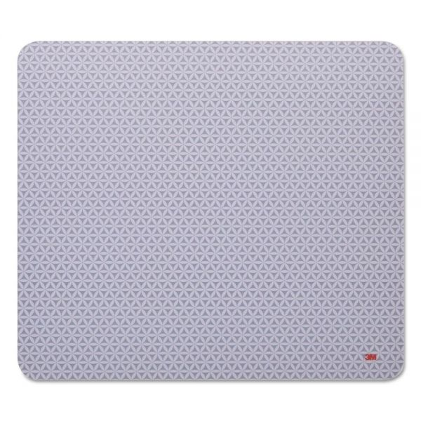 3M Precise Mouse Pad, Nonskid Back, 9 x 8, Gray/Bitmap