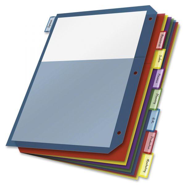 Cardinal 2-Pocket Index Dividers