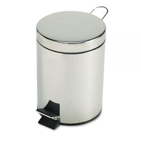 Rubbermaid Economical Step-On 1.5 Gallon Trash Can