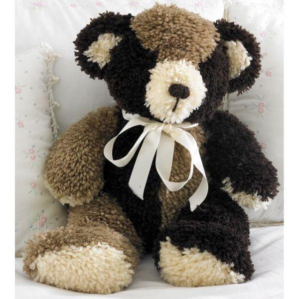 "Huggables Stuffed Toy Latch Hook Kit 20"""