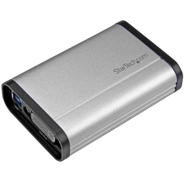 StarTech.com USB 3.0 Capture Device for High Performance DVI Video - 1080p 60fps - Aluminum