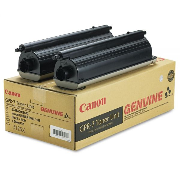 Canon GPR-7 Black Toner Cartridges (6748A003AA)