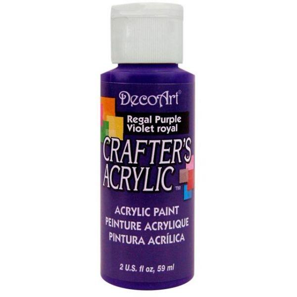 Deco Art Regal Purple Crafter's Acrylic Paint