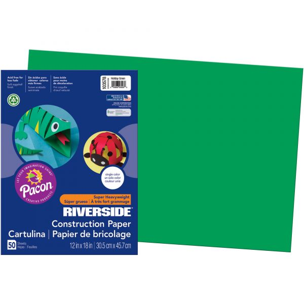 Pacon Green Construction Paper