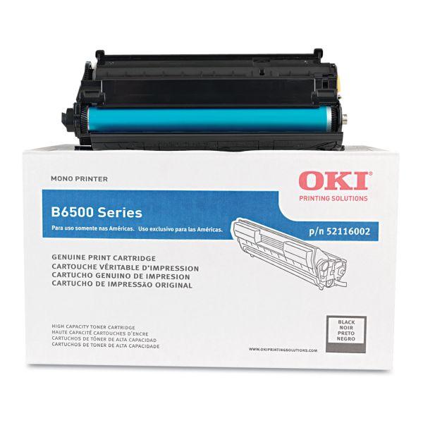 Oki 52116002 Black High Yield Toner Cartridge