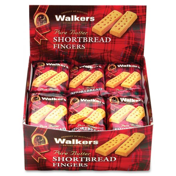 Walkers Shortbread Fingers Snack Packs