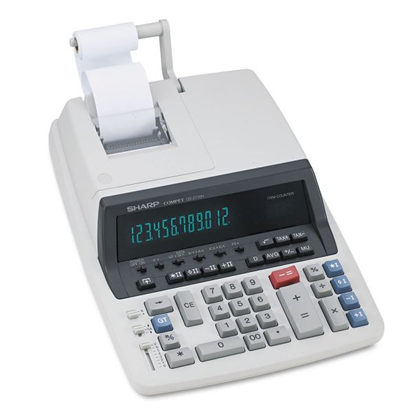 Sharp QS2770H Commercial Printing Calculator