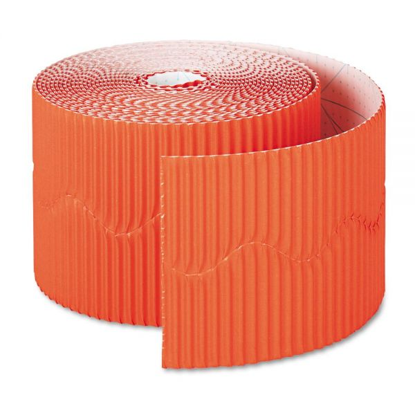 "Pacon Bordette Decorative Border, 2 1/4"" x 50' Roll, Orange"
