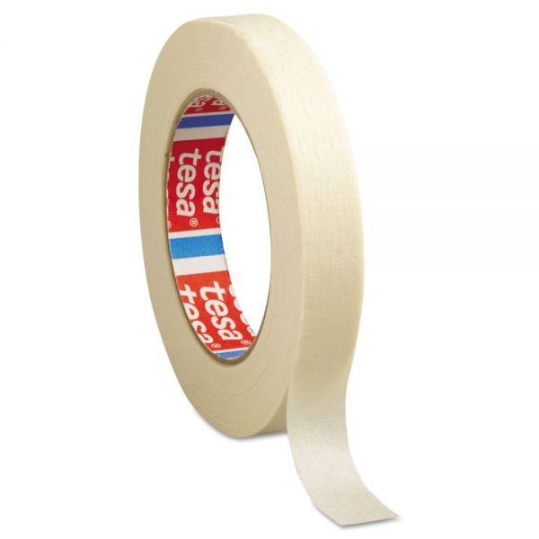"""tesa General Purpose Masking Tape, 3/4"""" x 60yd, Crepe"""