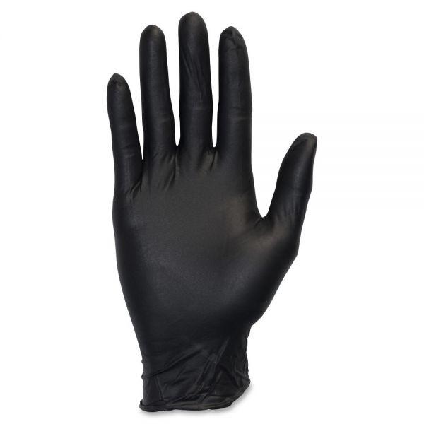 Safety Zone Powder Free Black Nitrile Gloves