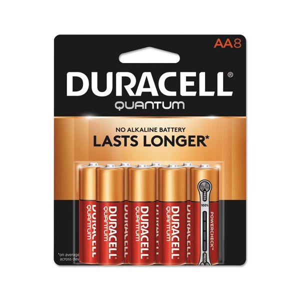 Duracell Quantum Alkaline Batteries, AA, 8/PK