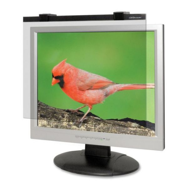 Compucessory Wide-Screen LCD Glare Filter Black