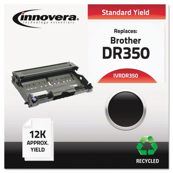 Innovera DR350 (DR350) Drum, 12000 Page-Yield, Black
