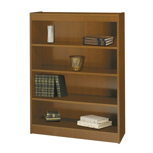 Safco Square-Edge 4-Shelf Bookcase