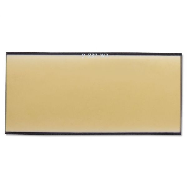 "Anchor Brand Gold Filter Plate, 2"" x 4"", #9, Glass"