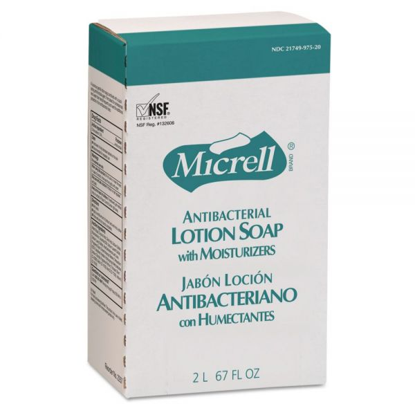 GOJO NXT Antibacterial Lotion Hand Soap Refills