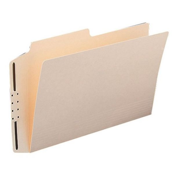 Smead Manila Heavyweight File Folders With Fasteners