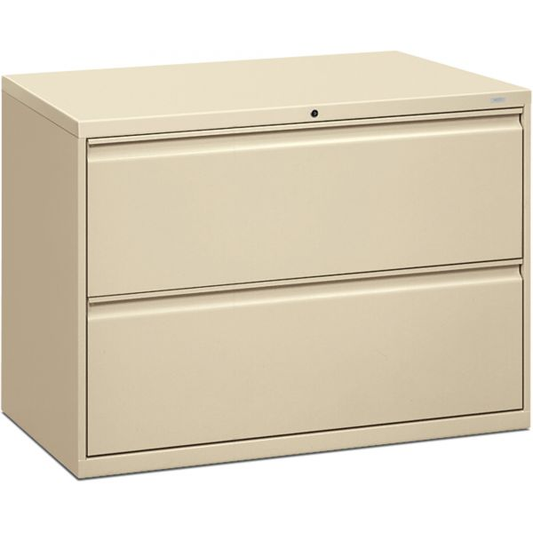 "HON Brigade 800 Series Lateral File | 2 Drawers | 42""W"