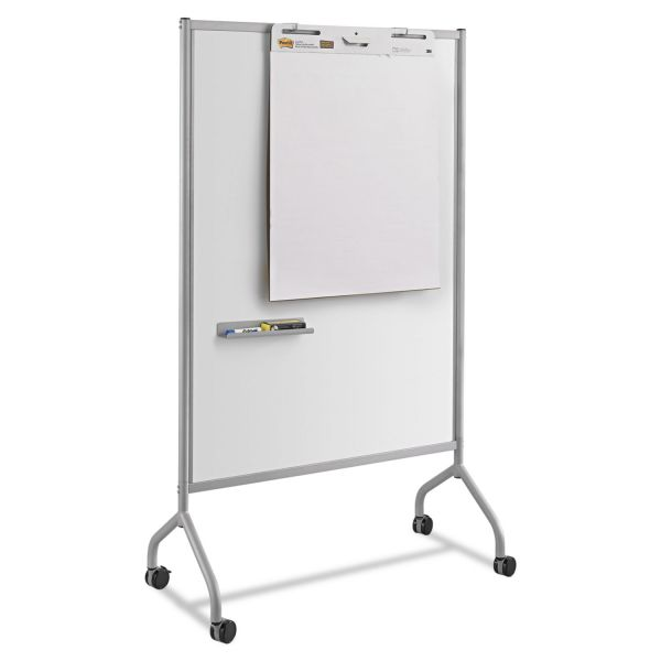 Safco Impromptu Magnetic Whiteboard Collaboration Screen, 42w x 21 1/2d x 72h, Gray