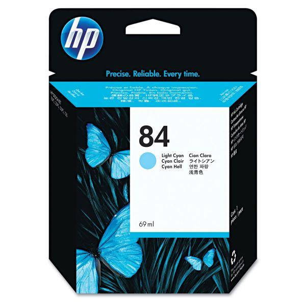 HP 84 Light Cyan Ink Cartridge (C5017A)