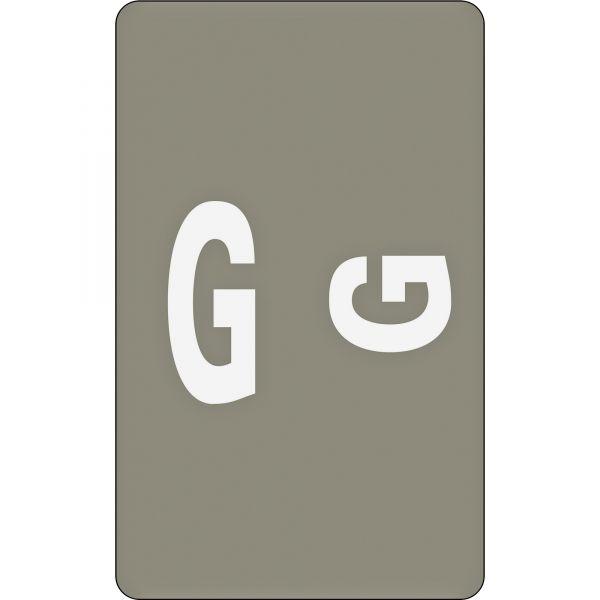 Smead AlphaZ ACCS Color-Coded Alphabetic Label - G