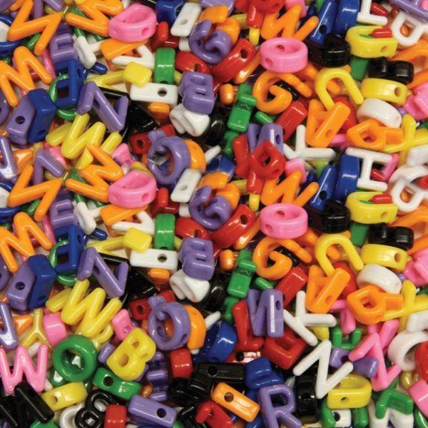 Alphabet Beads 288/Pkg