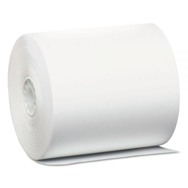 """PM Company Direct Thermal Printing Thermal Paper Rolls, 3 1/8"""" x 440 ft, White, 32/Carton"""