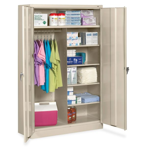 Tennsco Jumbo Combination Steel Storage Cabinet