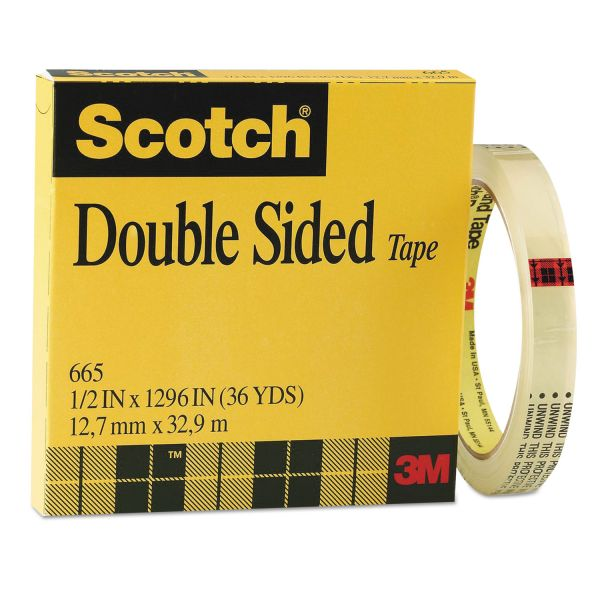 3M Scotch 665 Double-Sided Tape