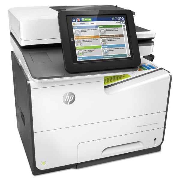 HP PageWide Enterprise Color MFP 586dn, Copy/Print/Scan