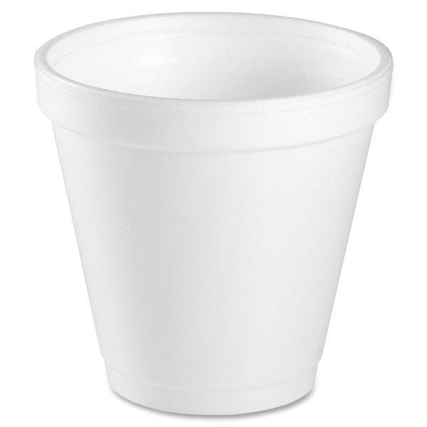 Dart 4 oz Foam Cups