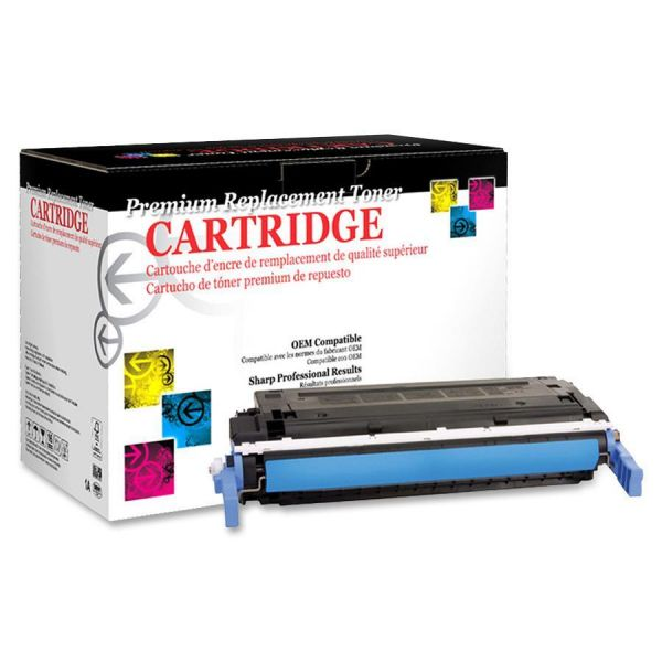 West Point Products Remanufactured HP C9721A Cyan Toner Cartridge