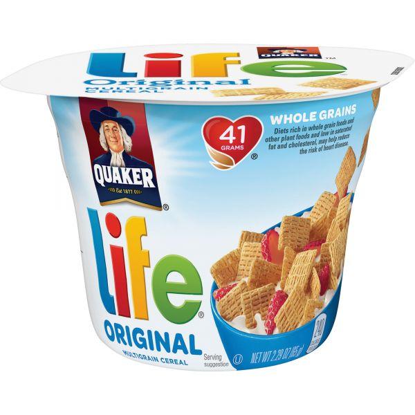 Quaker Oats Life Original Multigrain Cereal Bowls