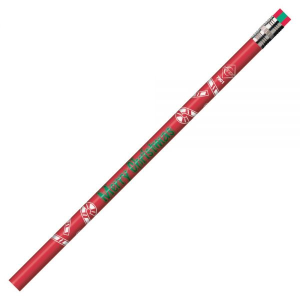 Moon Products Merry Christmas Themed Pencils