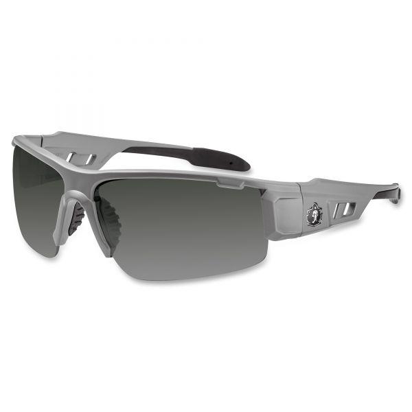 Ergodyne Smoke Lens/Gray Half Frame Safety Glasses