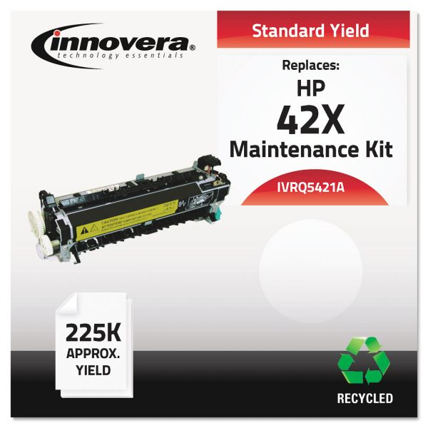 Innovera Q5421A Remanufactured, Q542167903 (4250) Maintenance Kit, 225000 Yield
