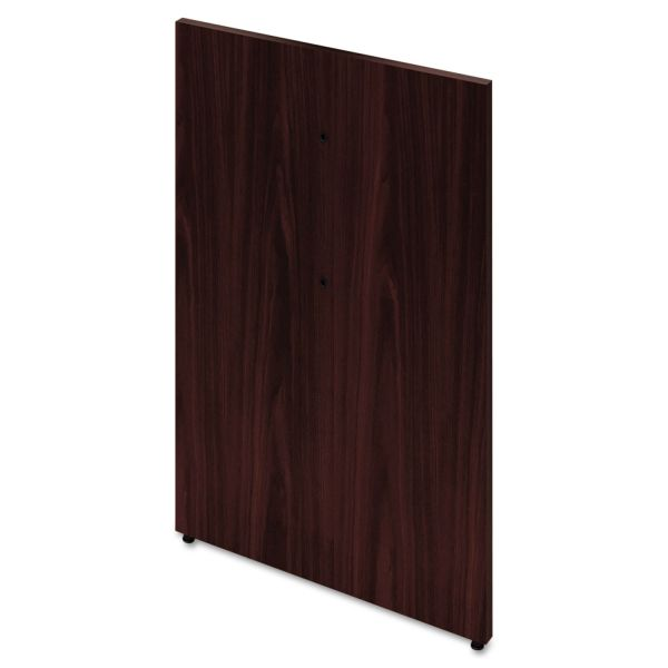 "HON Preside Mid Base, 28 3/8"" High, Mahogany"