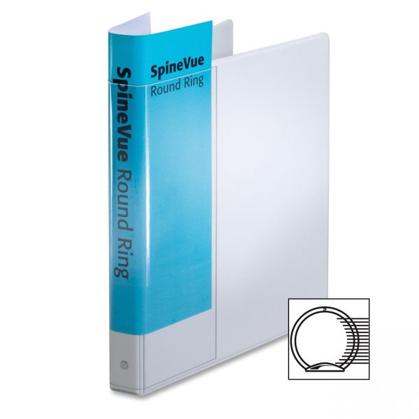 "Cardinal SpineVue 1"" 3-Ring View Binder"