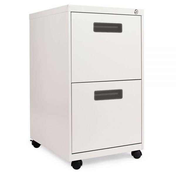 Alera 2-Drawer Mobile File Cabinet
