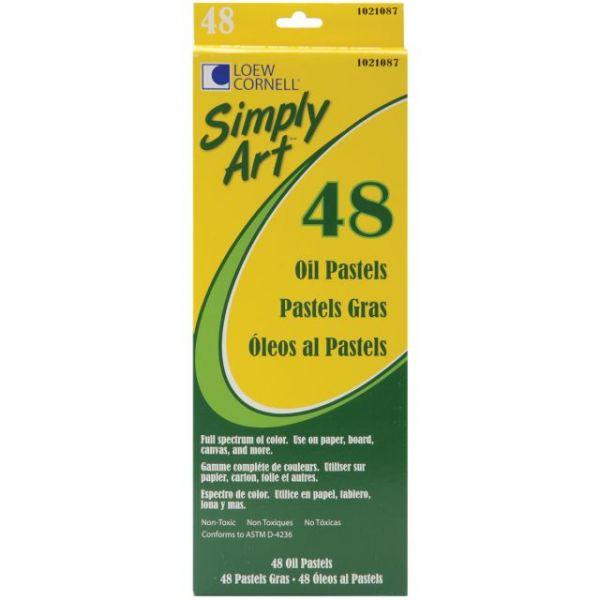 Simply Art Oil Pastels 48/Pkg