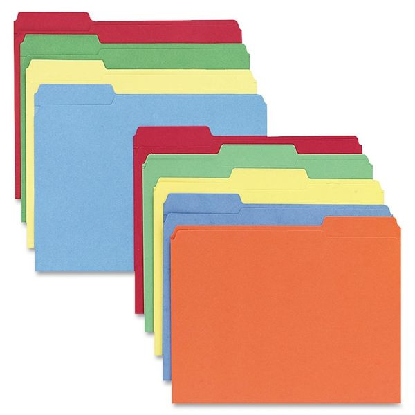 Sparco Colored File Folders