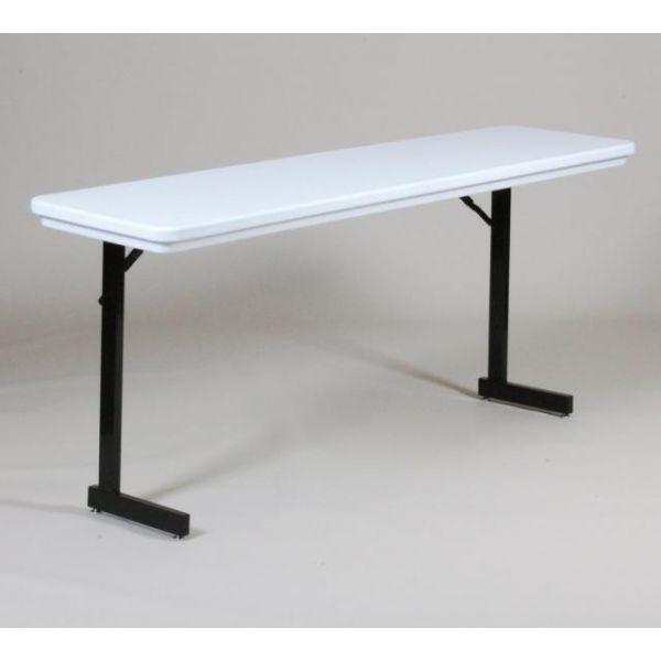 Correll T-Leg Folding Seminar Table