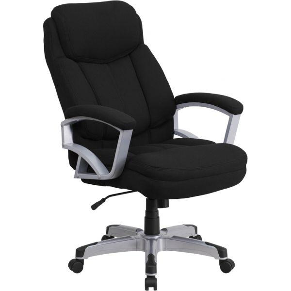 Flash Furniture Big & Tall Executive Swivel Office Chair [GO-1850-1-FAB-GG]